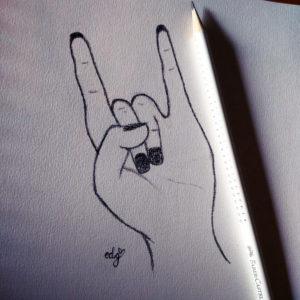 "you rock ! inspiration ""The moon bacon"""