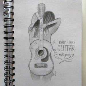Guitar lover  - Inspiration (auteur inconuu)