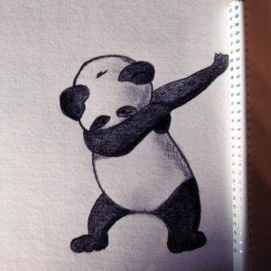 Panda - inspiration auteur inconnu