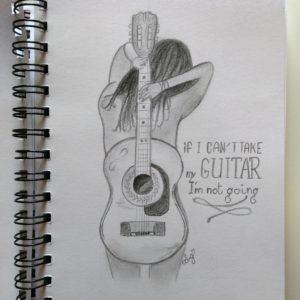 Guitar lover  - Inspiration (auteur inconnu)