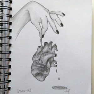 Save my heart - - inspiration The Moon Bacon (?)